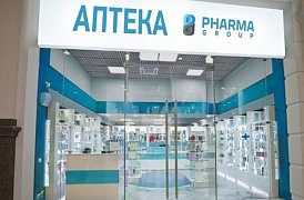 Франшиза аптеки Pharma group ()